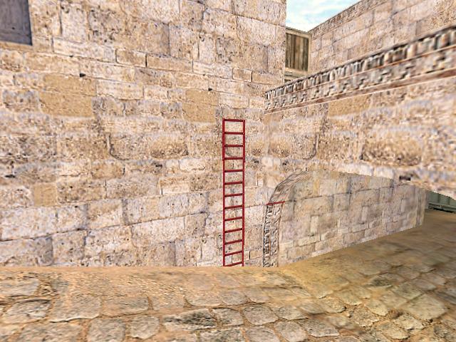 Как сделать лестницу cs go